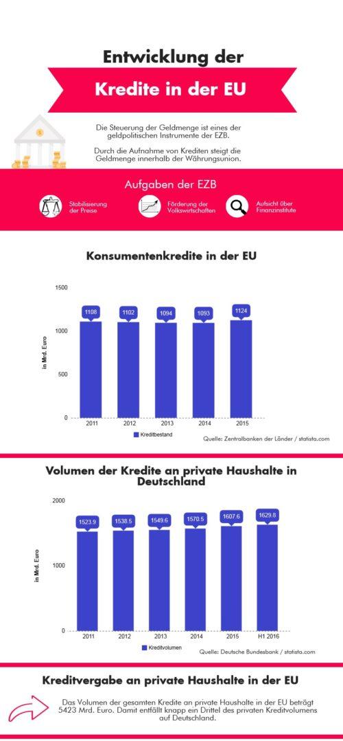 Infografik Kreditvergabe